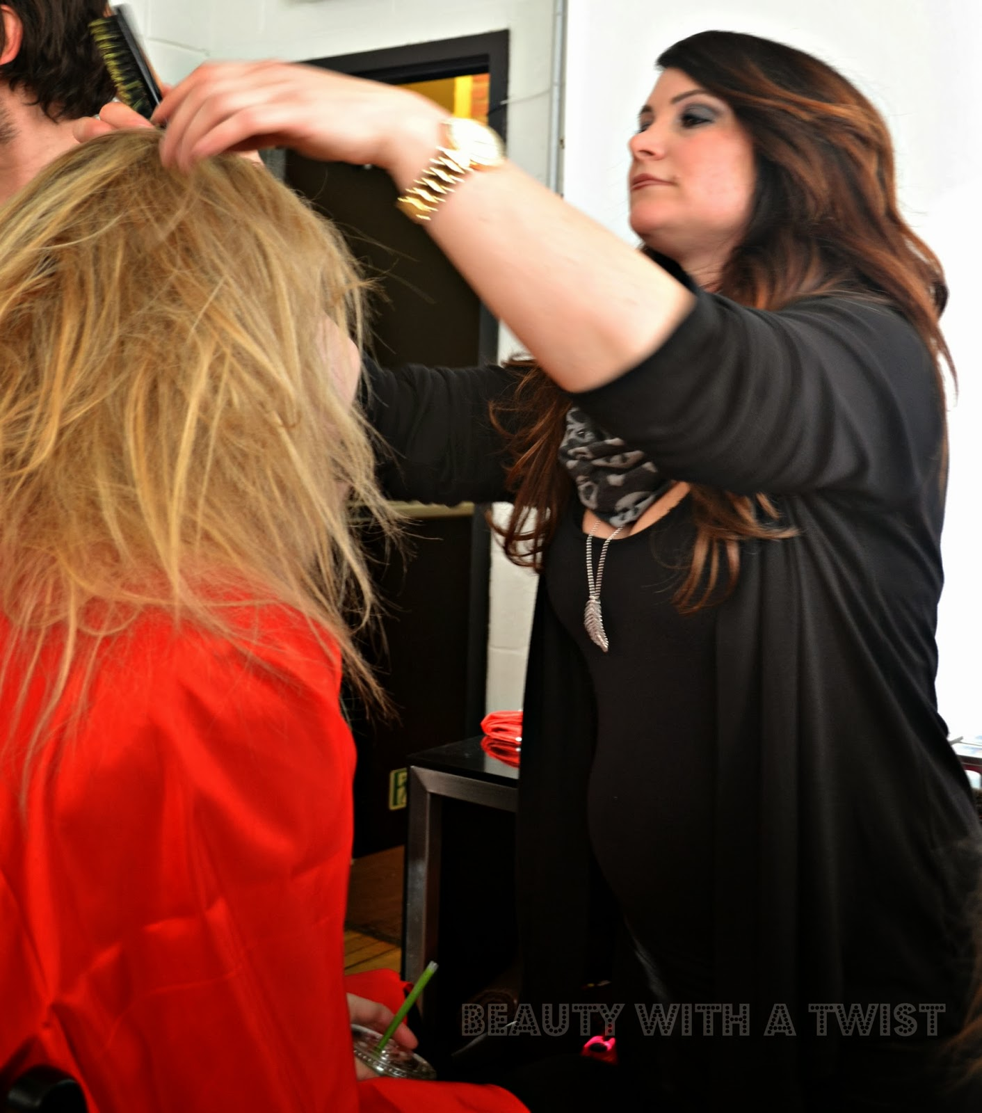 backstage, 5:31 Jérôme, NYFW, Beauty with a Twist, CHI Haircare, beauty,