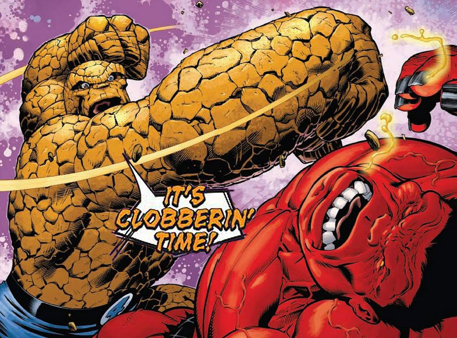IT'S CLOBBERIN' TIME!