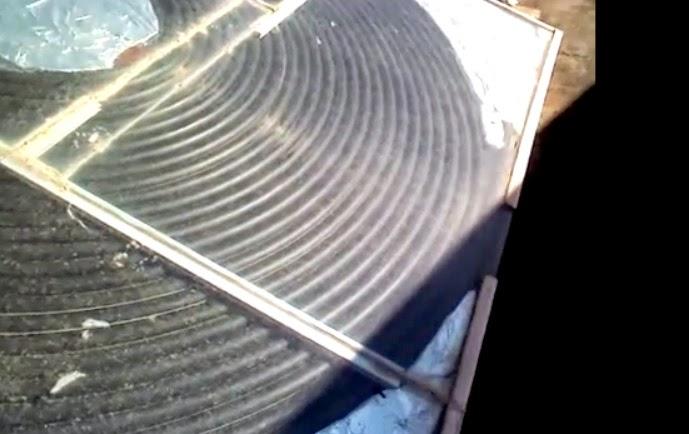 Pannello solare termico fai da te a solo 100 euro
