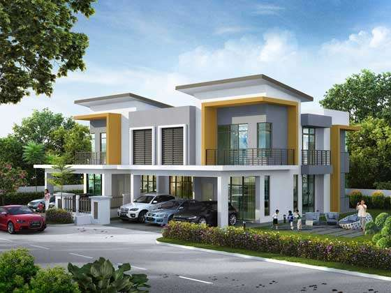 Gentil Modern Dream Homes Exterior Designs.