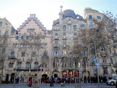 Casa Batllo, Barcelona, by Antoni Gaudi