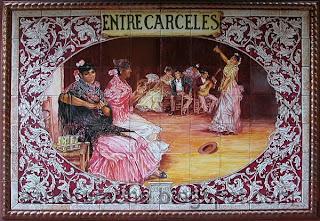 Sevilla - Azulejo de Entrecárceles