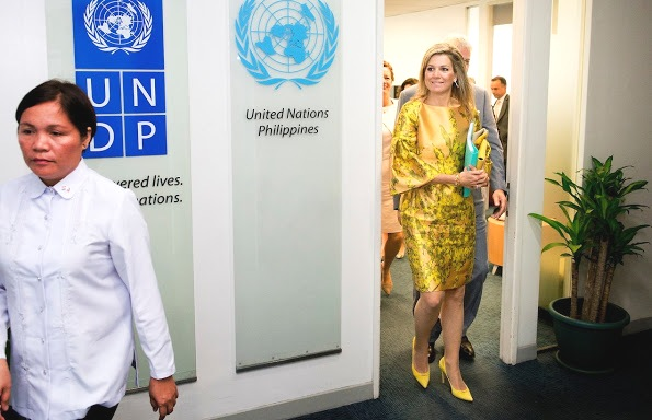 Queen Maxima's Visits To The Philippines, 1st Day