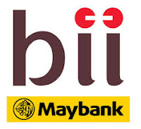 Logo PT Bank Internasional Indonesia (BII-Maybank)