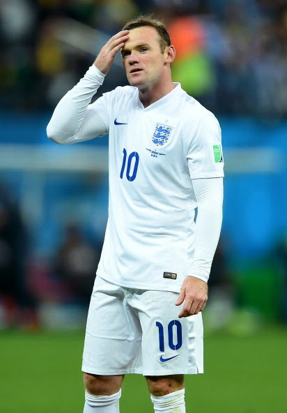 wayne rooney of england in 2014 football world cup
