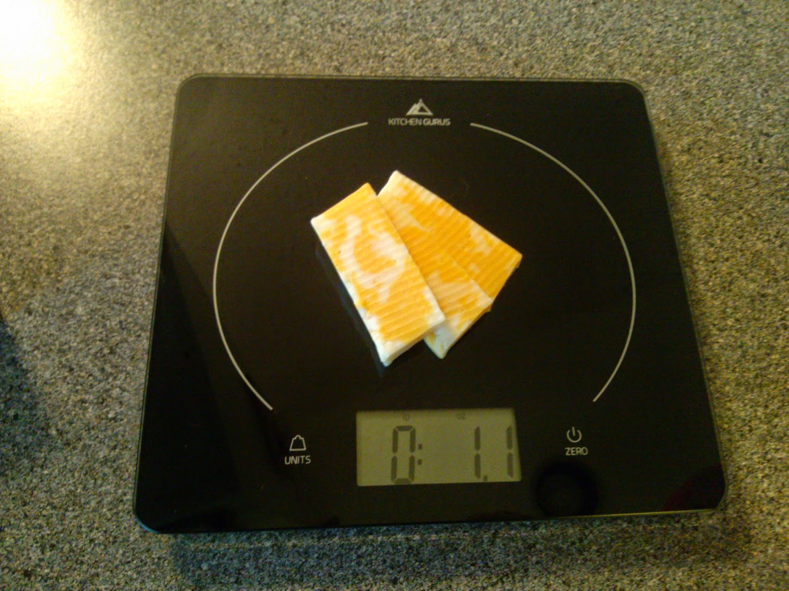 Kitchen Gurus Glass Top Digital Food Scale Review