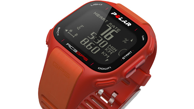 Polar RC3 GPS: Easy to use heart rate monitor