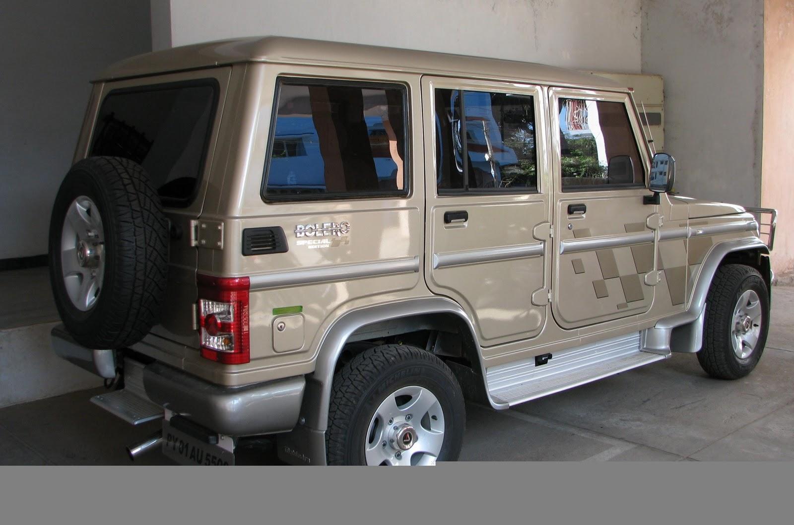 4bpblogspot 11qbWSsbfFM TZ2HzKMLQmI Mahindra Launches Bolero Special Edition Car Dunia
