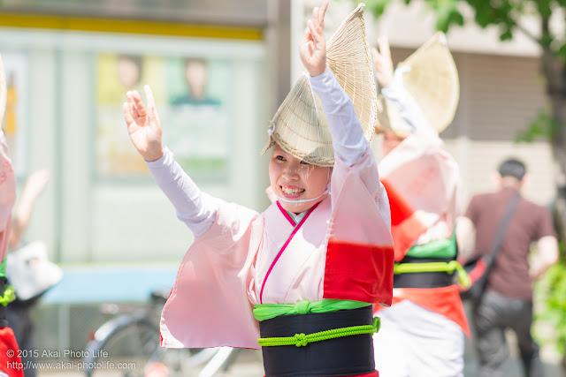飛鳥連 マロニエ祭り 女踊り