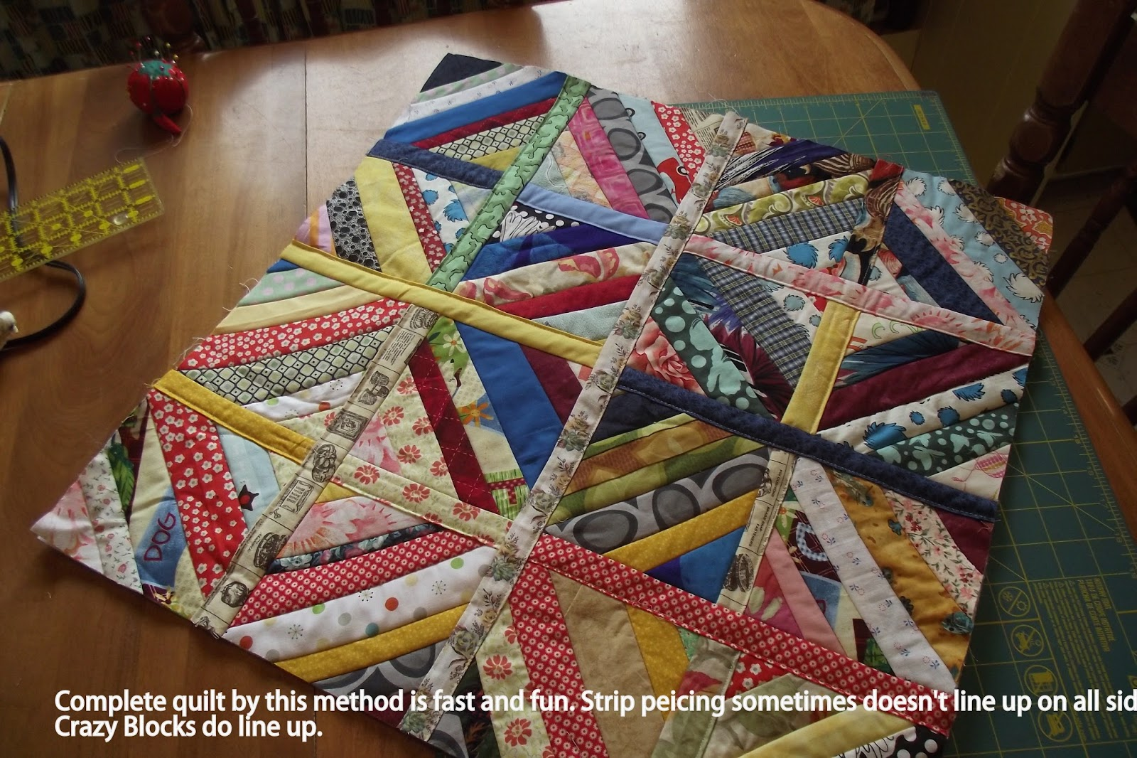 String Thing Along: Joining String Quilt Blocks : string quilt tutorial - Adamdwight.com