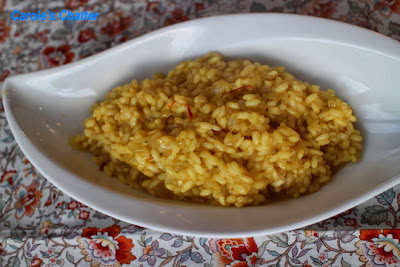Saffron risotto by Carole's Chatter