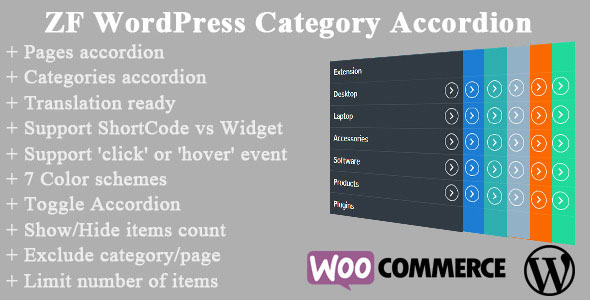 Free Download ZF WordPress Category Accordion V1.9 Plugin
