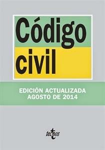 Textos Legales: Código Civil. Edición actualizada Agosto de 2014.