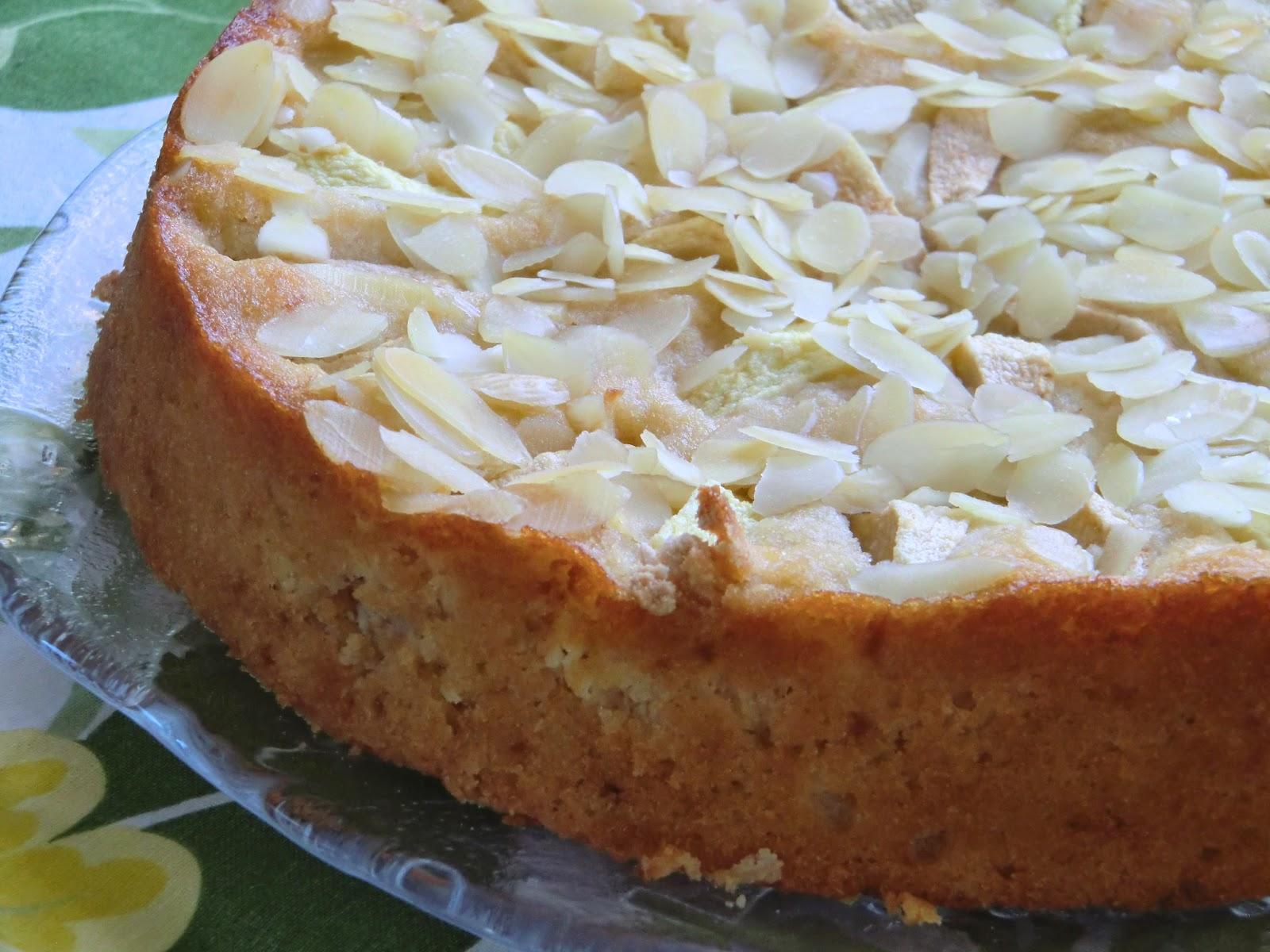 baka med mandelmjöl sockerkaka