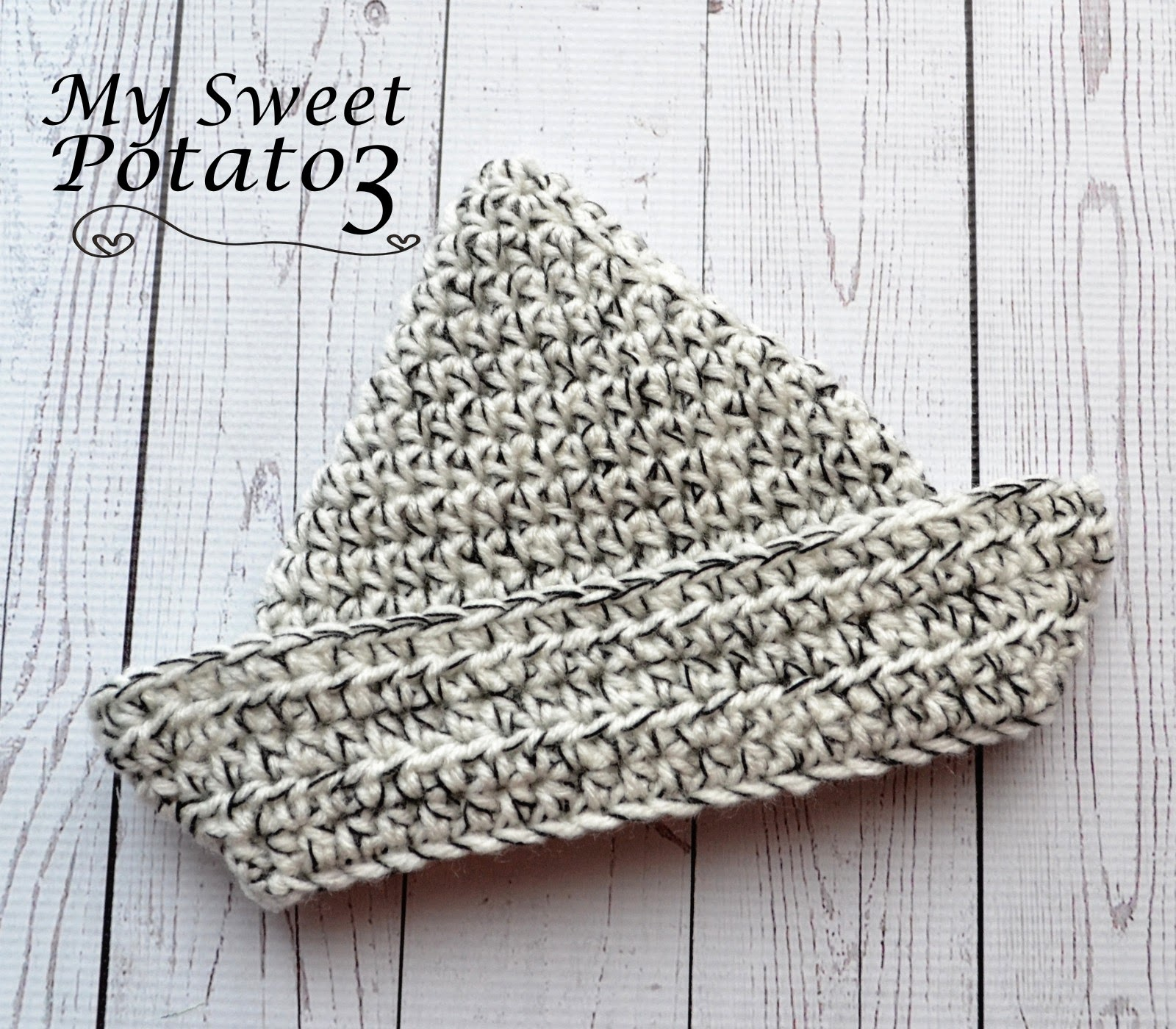 My Sweet Potato 3: Paper Boat Crochet Hat - Pattern Release!
