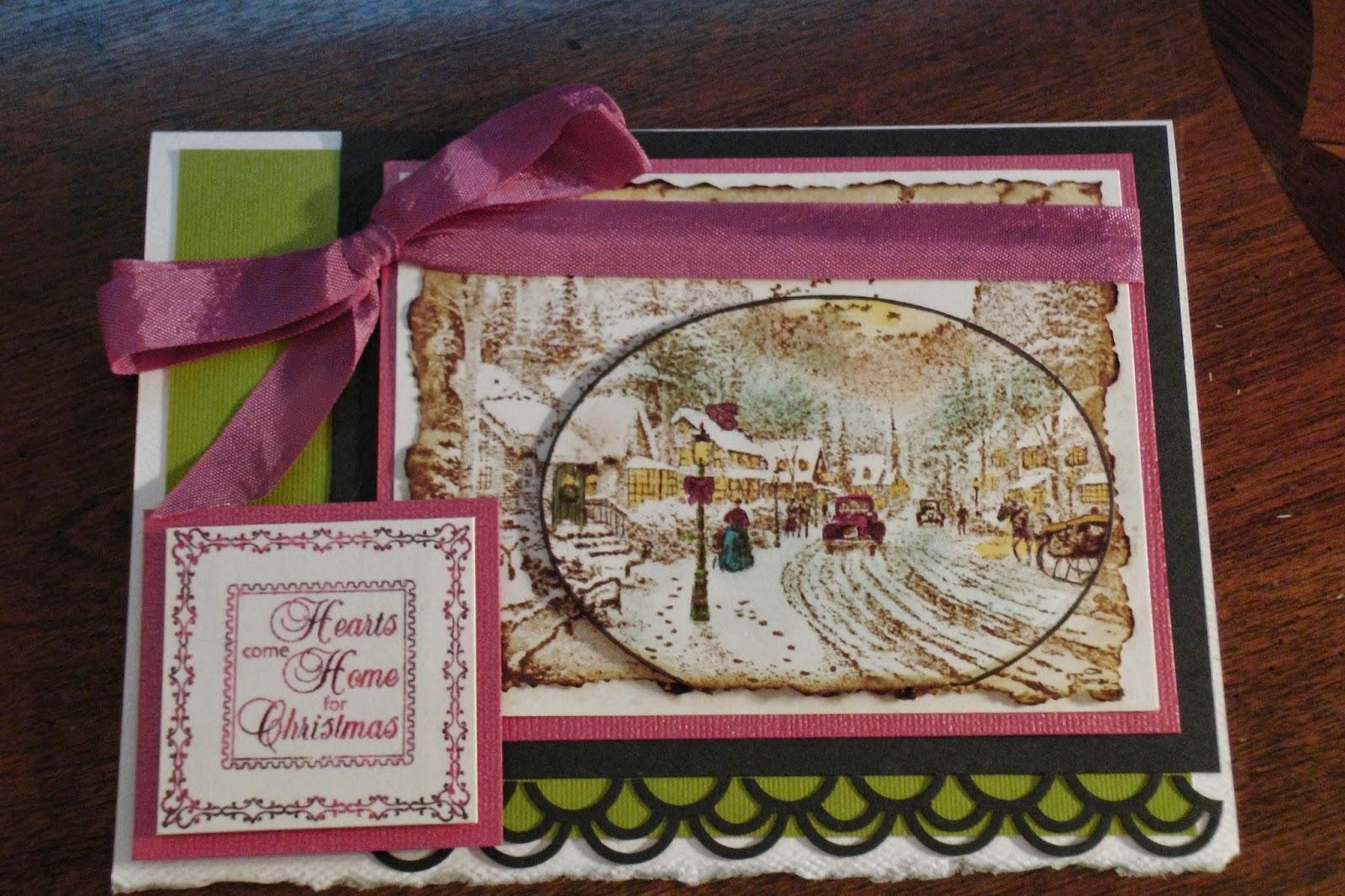 J Ross Artistic Designs -- JRAD: Christmas Cards - Thomas Kinkade ...