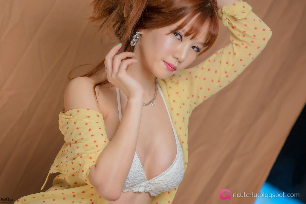3 Han Min Young - Red, Yellow, & Blue - very cute asian girl-girlcute4u.blogspot.com