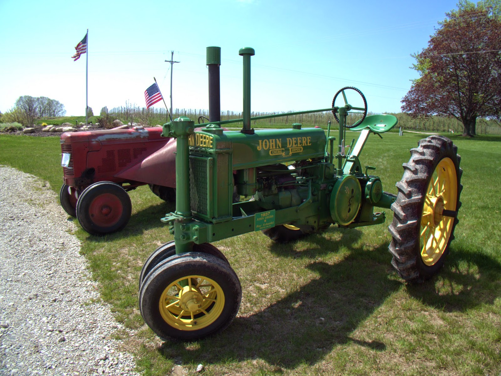 Antique Tractor Shows : Alpine township website companion historical