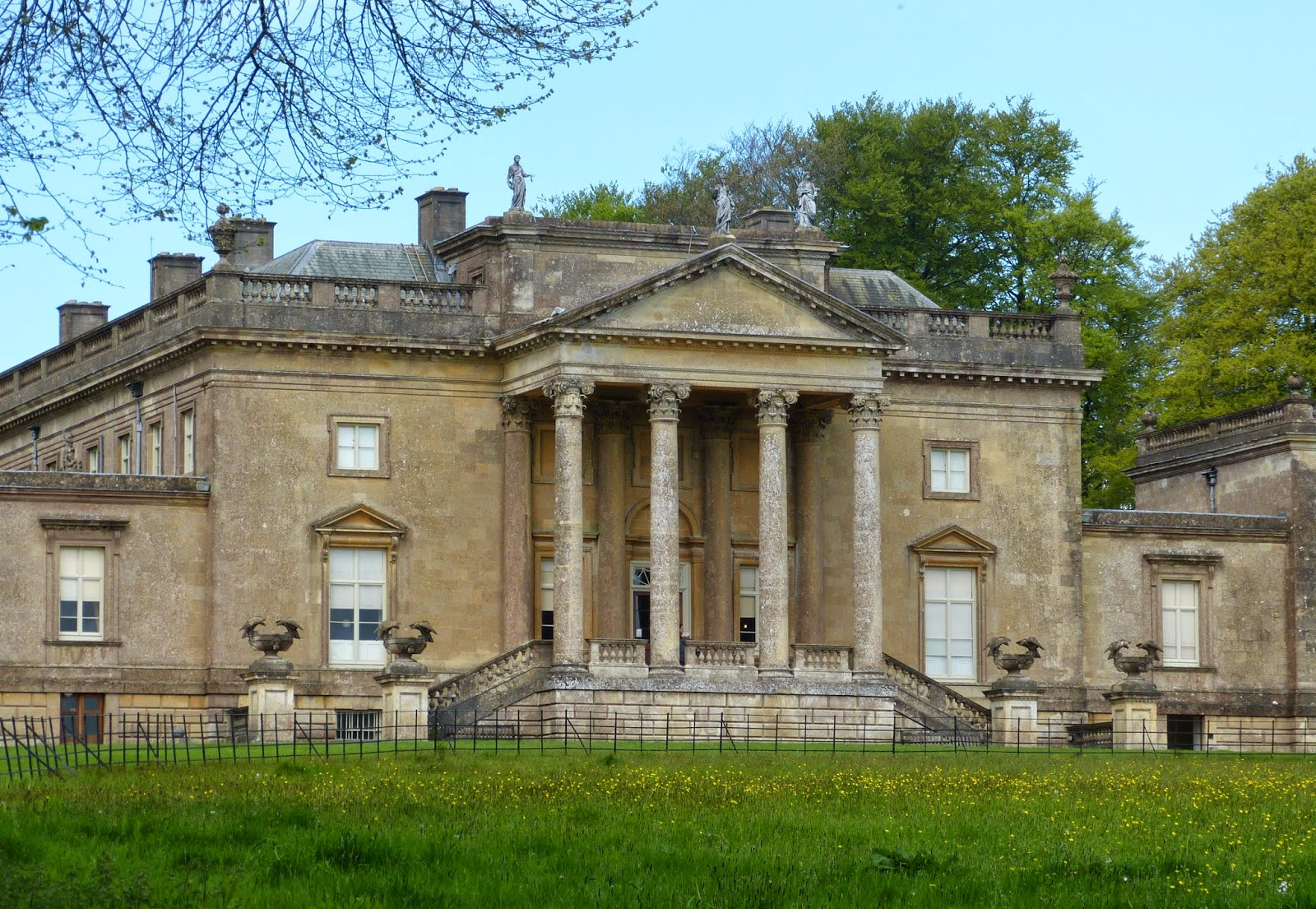 The Palladian exterior of Stourhead