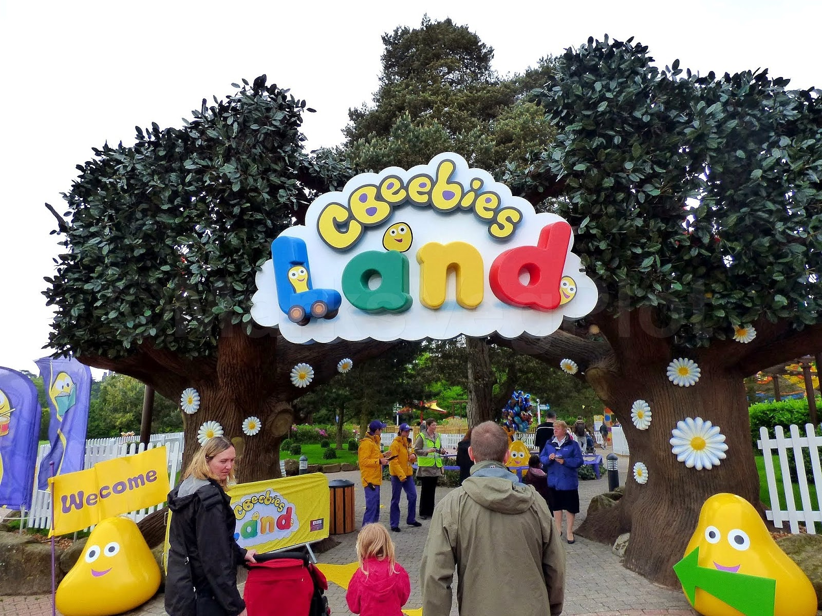 Entrance to CBeebies Land