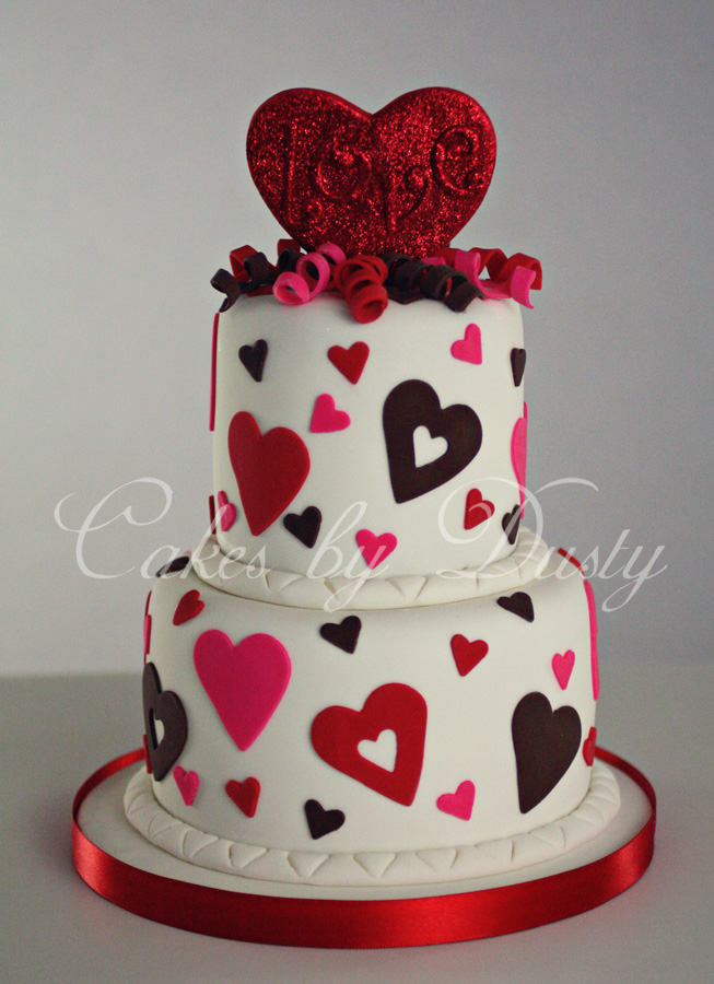 Valentine S Day Cake Images : Cakes by Dusty: February 2012