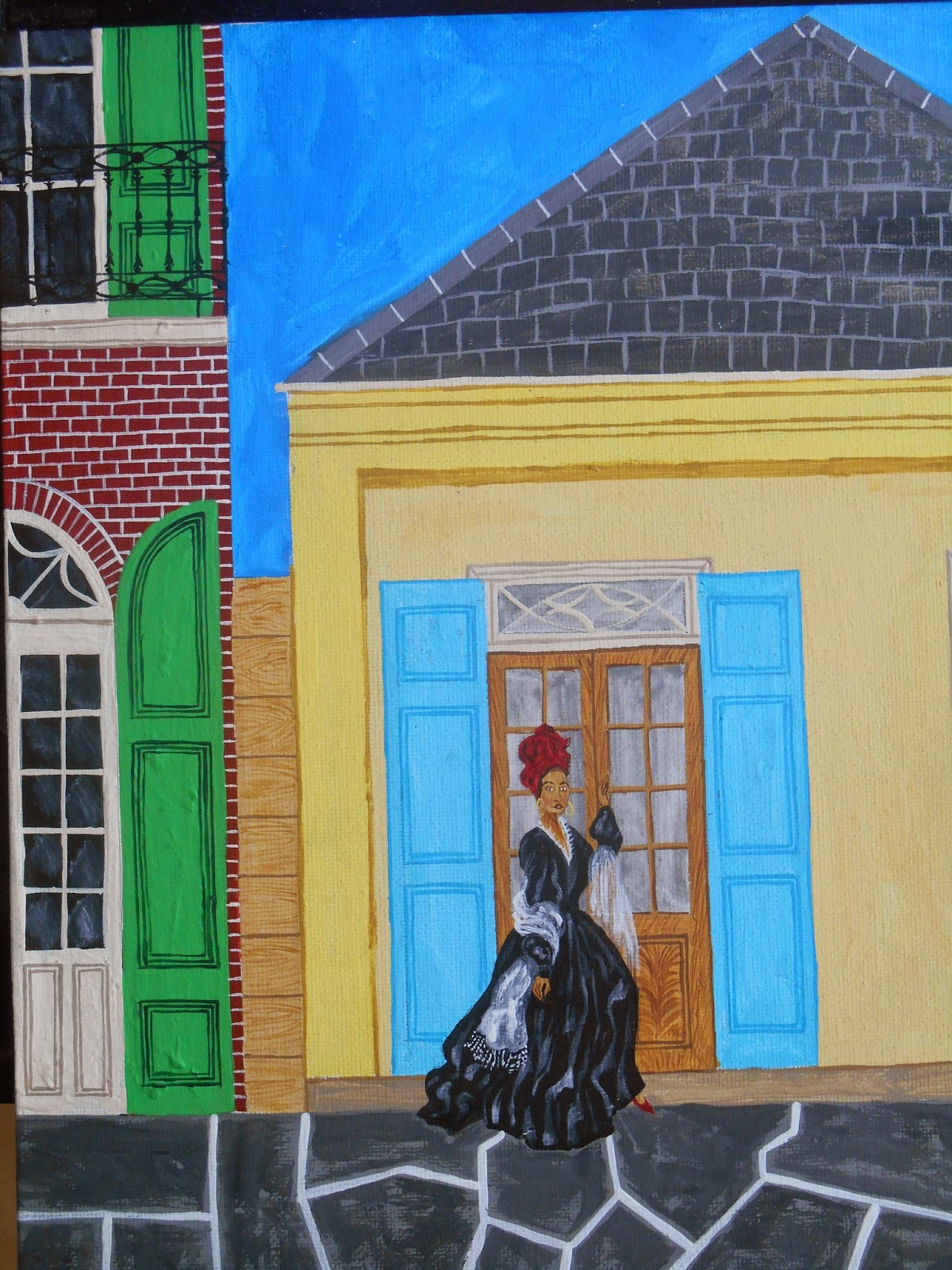 Southern Folk Artist & Antiques Dealer/Collector: My paintings of ...