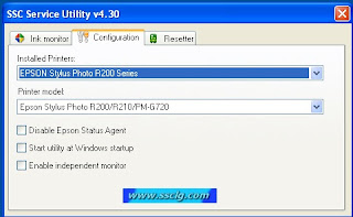 SSC Service Utility v4.30 arrancado