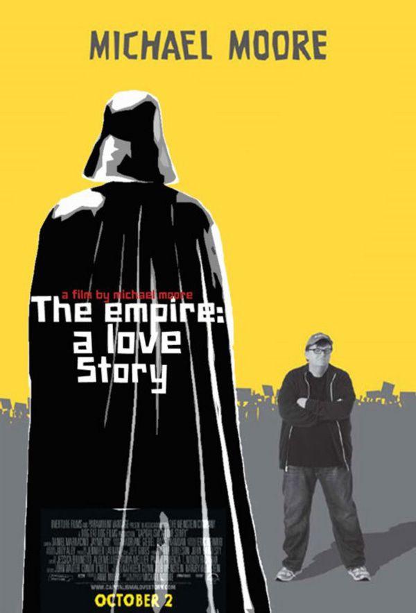 Posters de películas combinados con Stars Wars