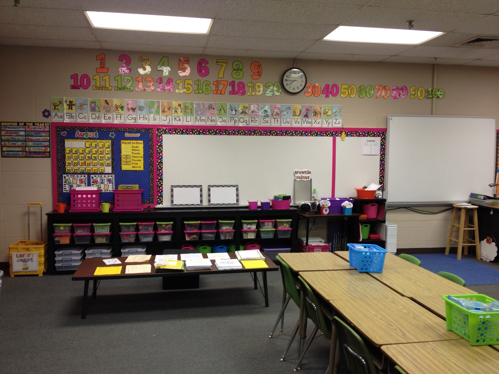 decor classroom new home desk organized teacher of excellent