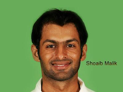 Cricketer Shoaib Malik