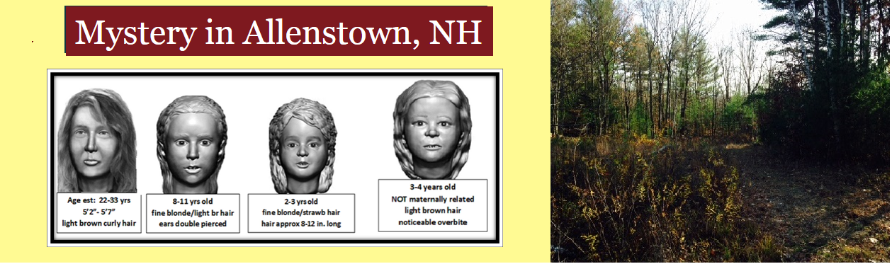 Mystery in Allenstown, NH