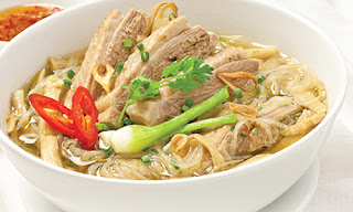 Vietnamese Bamboo Shoots and Chicken Noodle Soup Recipe