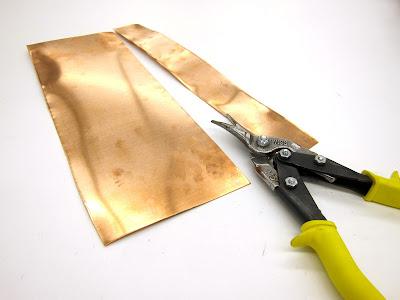 Working with Copper Sheet in Arts Crafts- Belinda Spiwak