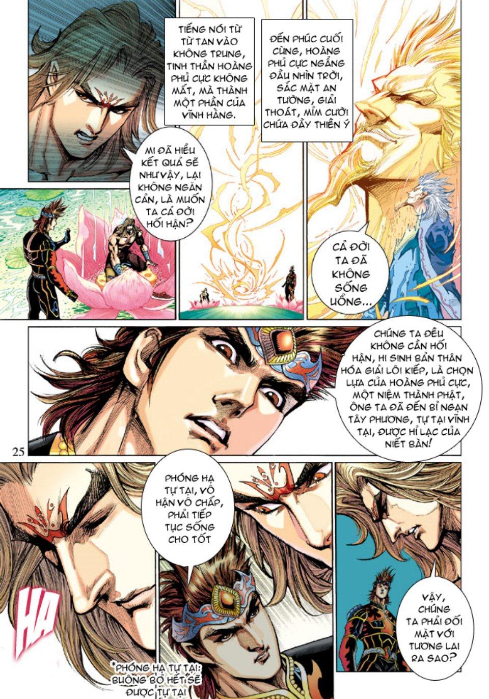 Thiên Tử Truyền Kỳ 5 - Như Lai Thần Chưởng chap 214 - Trang 24