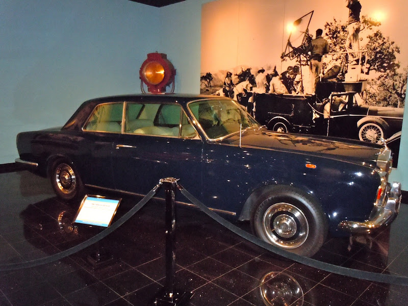Thomas Crown Affair movie Rolls Royce