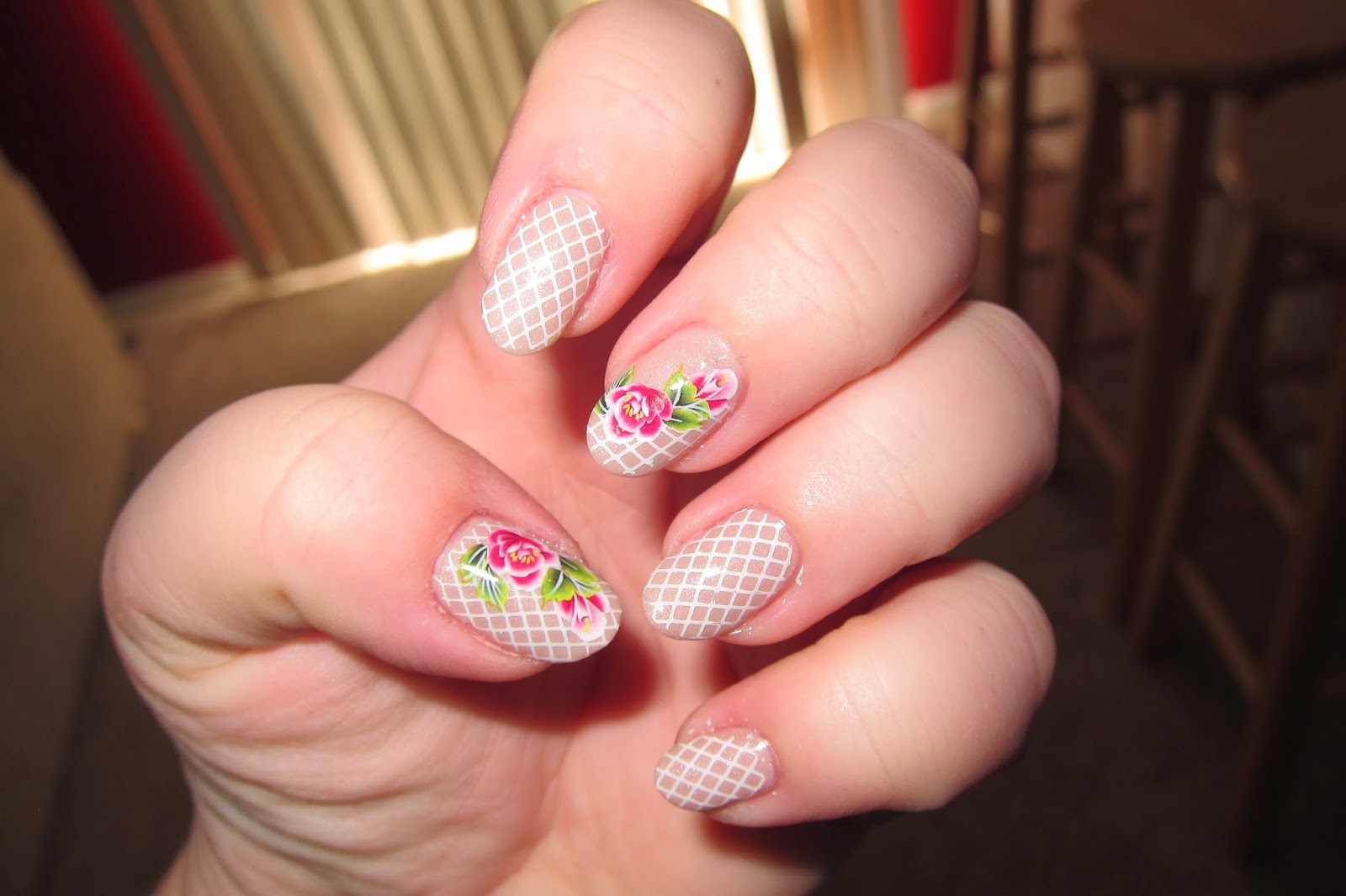 Nail Art World - gallery of nail design: Spring inspired nails in ...
