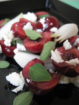cherry, oregano & feta salad