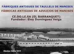 25.11.16 FÁBRICAS ANTIGUAS DE AZULEJOS DE MANISES: CEDOLESA (EL BARRANQUET)