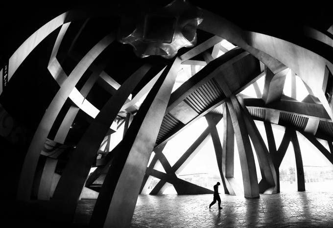 CIOB, The Art of Building 2014, Bird's Nest Puzzle Close-Up, by Mario Bejagan Cardenas