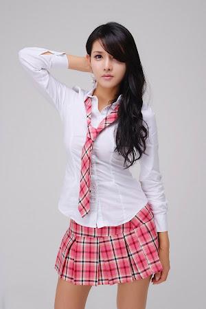 Cha Sun Hwa, Cute School Girl 04