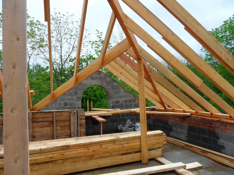 Дом своими руками как построить крышу