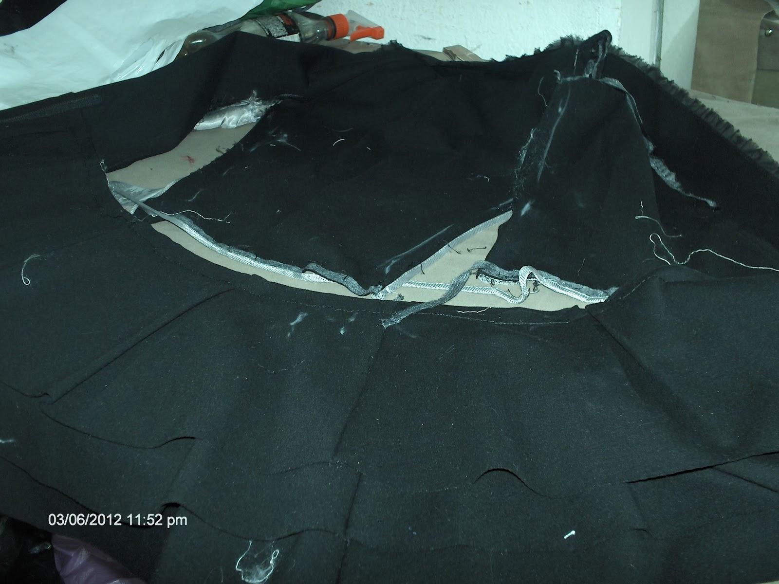 Como arreglar un abrigo estrecho