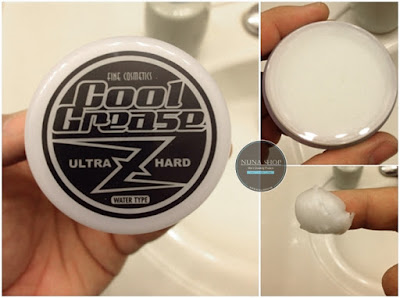 Cool Grease Z Ultra Hard Pomade Water Type Big Size 7.4oz