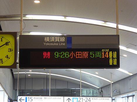 快速サマーホリデー湘南箱根 小田原行き E257系