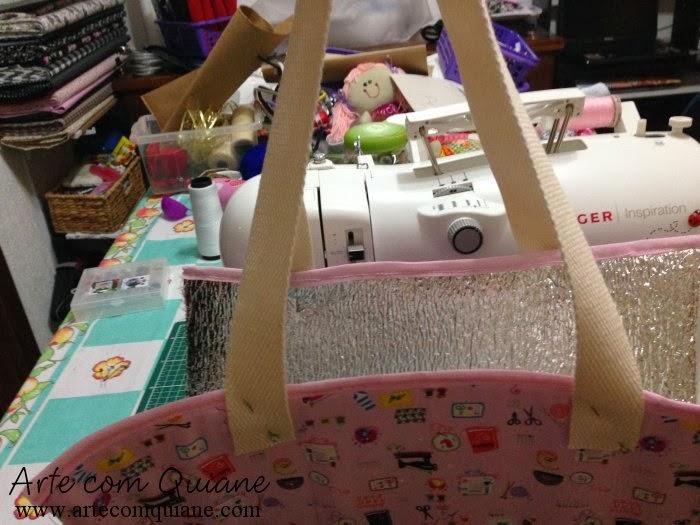 Bolsa Em Algodão Cru Passo A Passo : Arte com quiane paps e moldes de artesanato lancheira