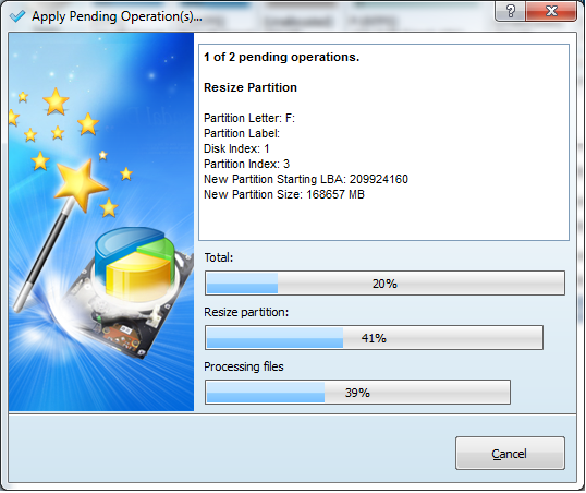mini tools partition wizard home edition v8.1.1