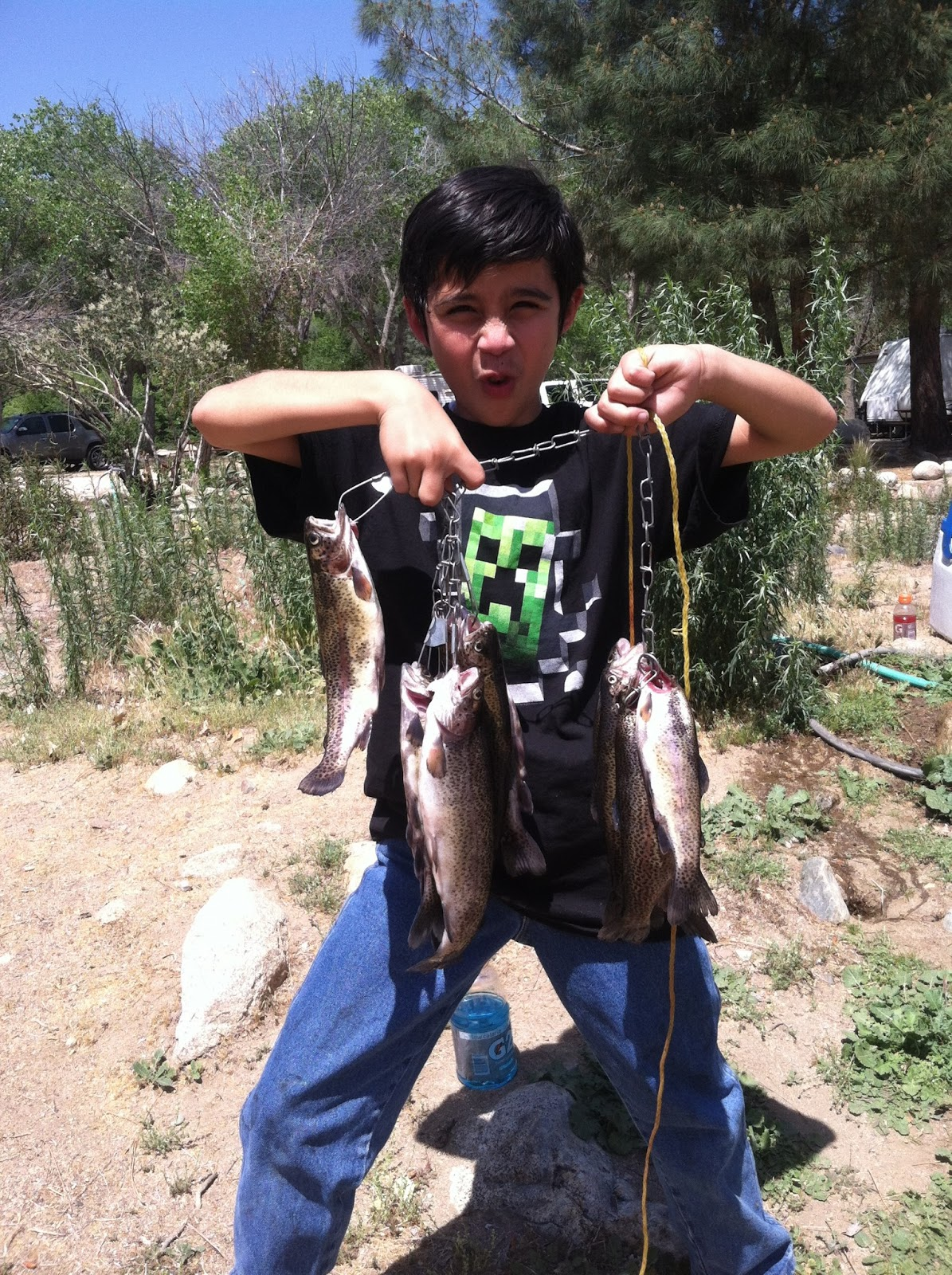 Our fishing adventures another excellent fishing weekend for Kern river fishing spots