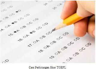 Cara Perhitungan Skor TOEFL