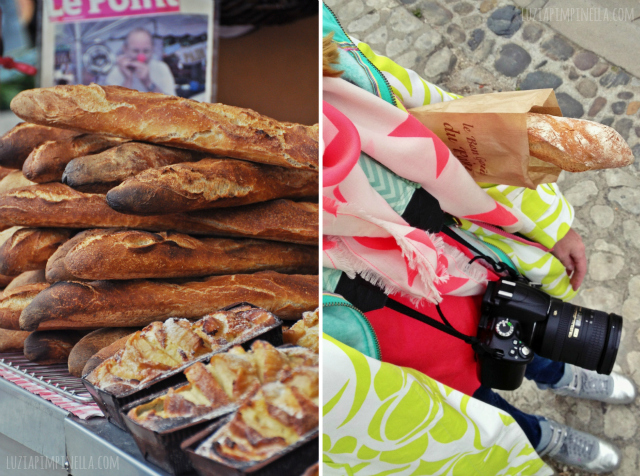 luzia pimpinella BLOG | travel tuesday | baguette  auf dem markt in la flotte,  ile de ré  | baguette  on the local market in  la flotte, ile de ré