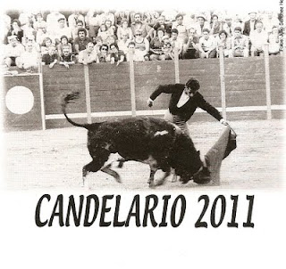 Cartel de las fiestas 2011 de Candelario Salamanca 2
